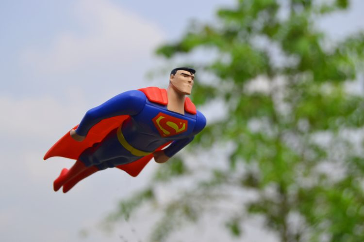 Meeting./ When VR replaces Superman