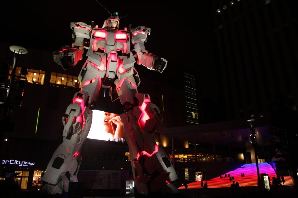 Le Gundam grandeur nature