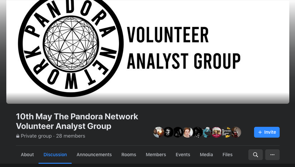 Groupe secret Pandora network