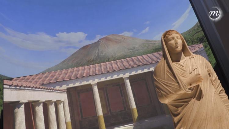 Pompéi : l'exposition immersive du Grand Palais