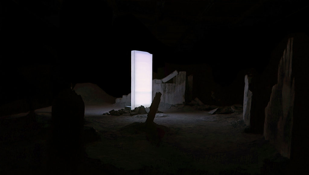 Un dome lumineux dans la nuit de Solastalgia