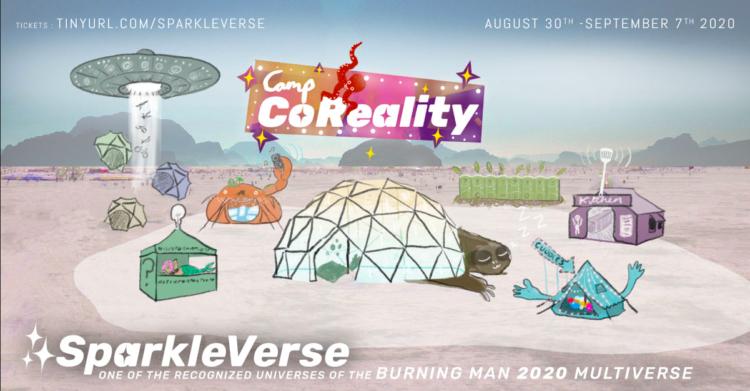 Faire une vraie fête en ligne ? C'est possible avec Co-reality collective !