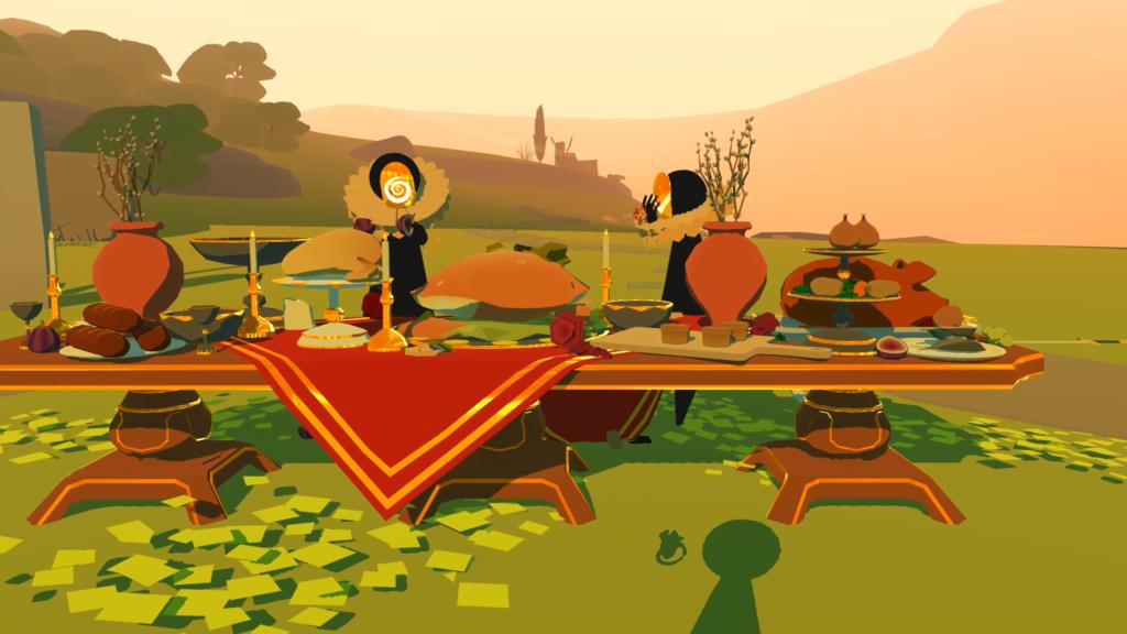Déguster un repas  pendant l'expérience - The Under Presents : Tempest