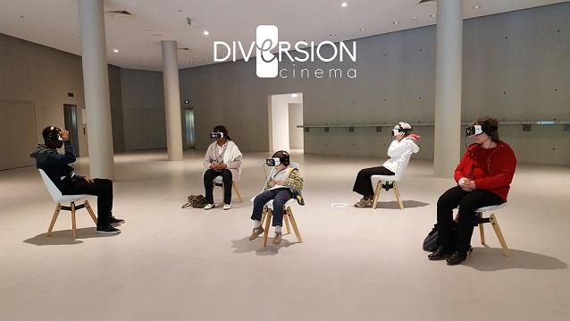 Diversion cinema nous fait découvrir des expériences en réalité virtuelle !