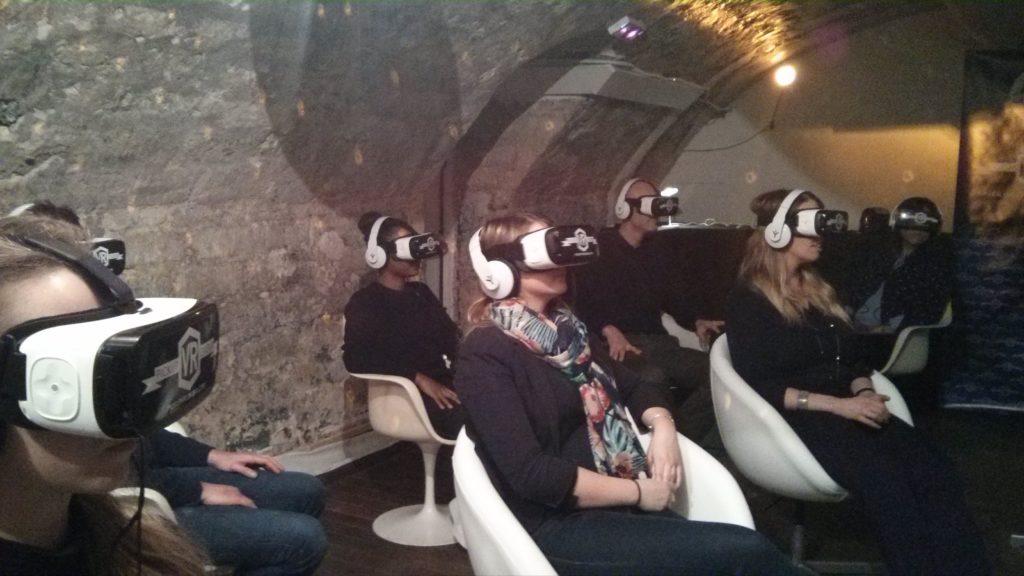 Une photo du Cinema VR de Diversion cinema