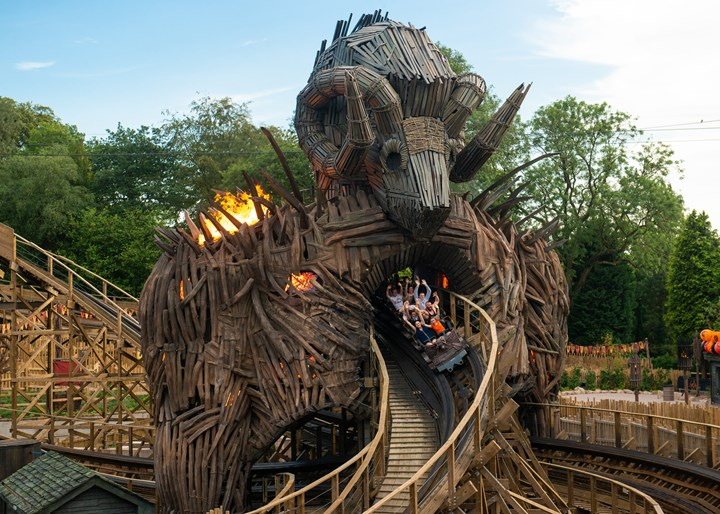 Le Wicker Man d'Alton Towers - Credits : Alton Towers
